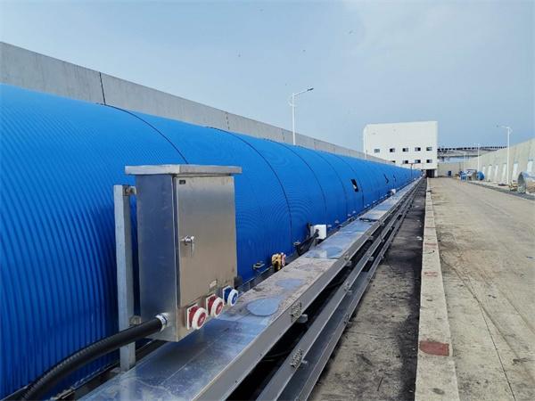 大唐国际雷州发电B2000皮带工程