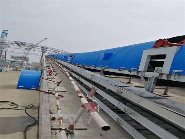 广东大唐雷州发电B2000皮带工程